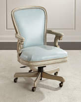 Massoud Lilly Leather Office Chair