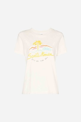 RE/DONE 70S LOOSE T-Shirt CITY BY THE SEA