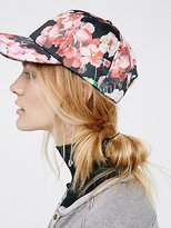 Free People Full Bloom Printed Baseball Hat