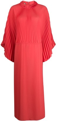 Gucci Pleated Long Dress