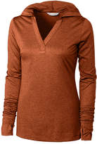 Cutter & Buck Brown Chelan Long-Sleeve Hoodie - Plus Too