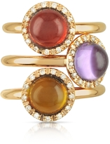 Tagliamonte Mia & Beverly Gemstone and Diamond 18K Rose Gold Ring