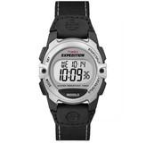 Timex T49957E4 Women's Water Resistant Digital Watch, Black