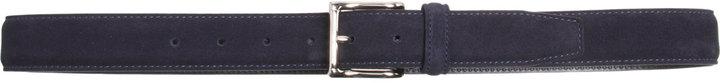 Barneys New York Stitched-Edge Belt