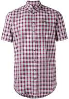 DSQUARED2 short sleeved tartan shirt