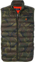 Polo Ralph Lauren sleeveless padded jacket