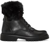 Moncler Black Patty Boots