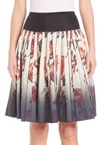 Marc Jacobs Dip-Dyed Floral Print Skirt