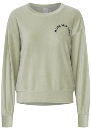 Ichi Kristy Sweater Desert Sage - S