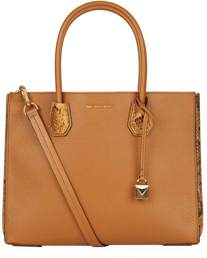 MICHAEL Michael Kors Large Leather Mercer Tote Bag
