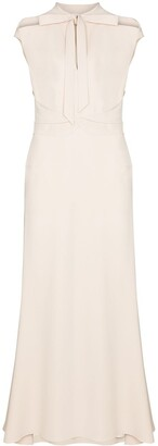 Roland Mouret Katios tie neck dress