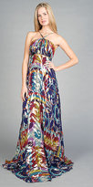 Metallic Print Gowns by Nicole Miller