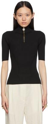 Lanvin Cashmere & Silk Rib Sweater