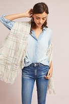 Anthropologie Astelle Plaid Wrap Scarf