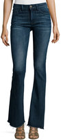 DL1961 Heather High-Waist Flare-Leg Jeans, Triton