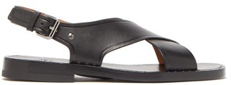 Church's Dainton Crossover Leather Sandals - Mens - Black