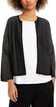 Eileen Fisher Open-Front Cardigan, Regular & Petite Sizes