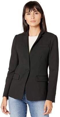 J.Crew Regent Blazer in Four-Season Stretch (Black) Women's Jacket