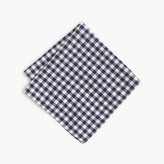 J.Crew Cotton pocket square in gingham