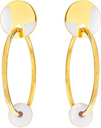 Monica Sordo Kuru Hoop Earrings