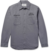 Wacko Maria - Embroidered Cotton-twill Overshirt