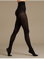 M&S Collection Secret SlimmingTM Ribbed Tights
