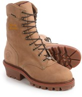 """Chippewa Rugged Logger 9"""" Work Boots - Waterproof, Insulated (For Men)"""