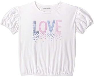 Calvin Klein Girls' Bubble Tee Shirt