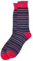 Duchamp Stripe Crew Socks