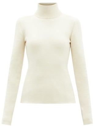 Gabriela Hearst Myers Cashmere-blend Roll-neck Sweater - Ivory