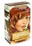 L'Oreal Superior Preference Rich Luminous Conditioning Colorant, Level 3 Permanent, Lightest Auburn/Warmer 7LA (Pack of 2)