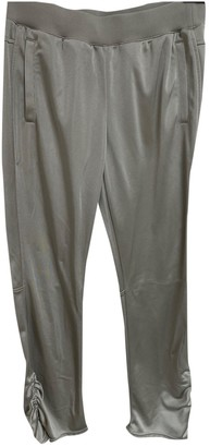 adidas Silver Synthetic Trousers