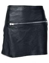 Saint Laurent zipped mini skirt
