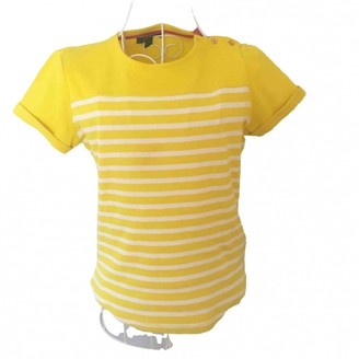 Lauren Ralph Lauren Yellow Cotton Top for Women