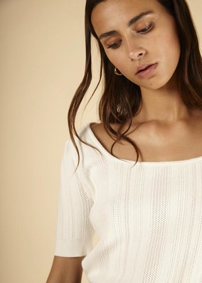 FRNCH Norina Sweater - S .