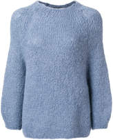 Humanoid mid-length sweater