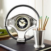 Pier 1 Imports Steering Wheel Desk Clock