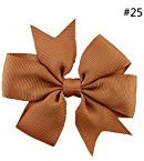 TRENDINAO Christmas/New Year/Birthday Hair Bow Clip Hairpin Colorful for Kids Baby Girls Toddlers