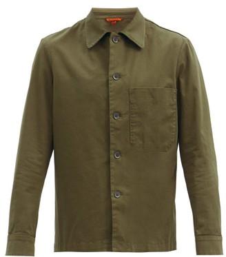 Barena Cedrone Cotton-blend Canvas Overshirt - Khaki