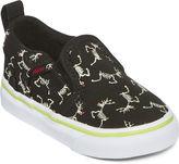 Vans Asher Boys Skeleton Skate Shoes - Toddler