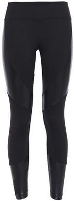 Koral Paneled Coated Stretch Leggings
