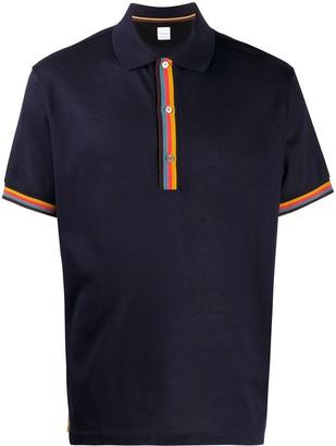 Paul Smith Short-Sleeved Polo Shirt