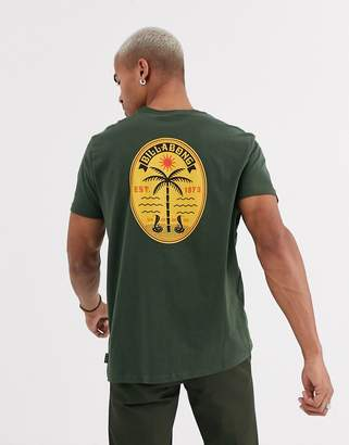 Billabong Trifecta t-shirt in khaki-Green