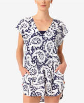 Anne Cole Pattie Paisley Printed Tunic Cover-Up Women's Swimsuit