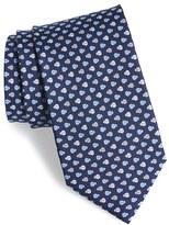 Salvatore Ferragamo Men's Ladybug Print Silk Tie