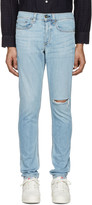 Rag & Bone Ssense Exclusive Blue Standard Issue Fit 1 Jeans