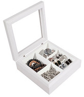 Jewelry Storage Box, White