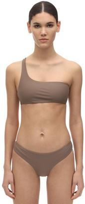 JADE SWIM Apex One Shoulder Lycra Bikini Top