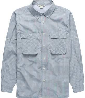 Exofficio Air Strip Check Plaid Long-Sleeve Shirt - Men's