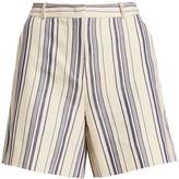 Loro Piana Lonny Striped Shorts